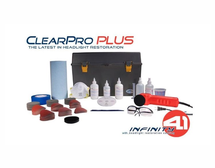 Комплект для восстановления фар Delta Kits ClearPro PLUS